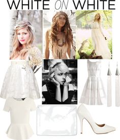 """""""White on white # 2"""" by kitty-wasch on Polyvore"""