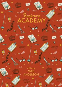 Wes Anderson posters on Behance