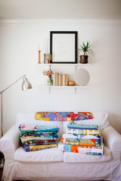 Sari Bari - handmade quilts made by women breaking free from the sex trade industry in India.