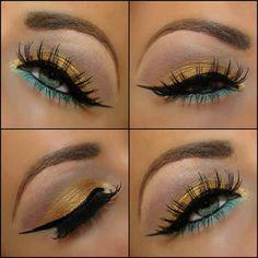 maquillaje para ojos verdes paso a paso - Buscar con Google