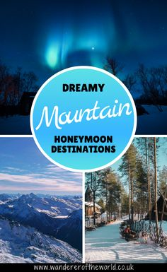 Incredible honeymoons don't always have to involve palm trees and remote islands. Why not sprinkle an extra dose of magic on yours with a romantic escape to one of these dreamy mountain honeymoon destinations? | Mountain Honeymoon Cabins | Best Mountain Honeymoon | Romantic Mountain Honeymoon | Mountain Honeymoon Aesthetic | Romantic Mountain Getaway Couple | Best Romantic Mountain Getaway | Romantic Mountain Getaway Honeymoon Destinations Unique Honeymoon Destinations, Honeymoon Cabin, Affordable Honeymoon, Amazing Destinations, Romantic Escapes, Romantic Travel, Romantic Weekend Getaways, Group Travel, Honeymoons