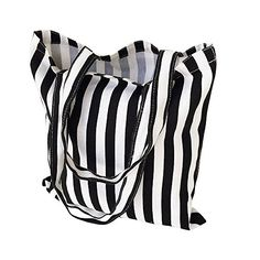 New Trending Shopper Bags: Flowertree Womens Cute Animal Print Canvas Tote Bag (506-Black white stripe/Open). Flowertree Women's Cute Animal Print Canvas Tote Bag (506-Black white stripe/Open)  Special Offer: $7.99  355 Reviews Fun and functional. Ladylike and right on trend…just like you. These canvas tote with animal print pattern bag is easy to fit, spacious, strong, durable....