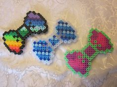 Perler Bead Hair Bows by Autumnjeweler
