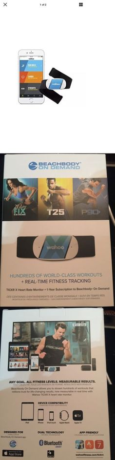 Heart Rate Monitors 15277: Wahoo Fitness Tickr Heart Rate Monitor, Iphone And Android Bluetooth Heart Monitor BUY IT NOW ONLY: $47.99