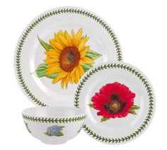 Enter to Win 12 pieces of Botanic Garden Melamine from Portmeirion Group. #Sweepstakes Ends 7/8.
