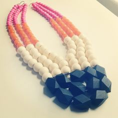 Macaroon, necklace by Irene Wood