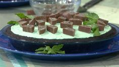 Get Tasty\'s no-bake Oreo mint chocolate candy pie recipe - TODAY.com