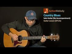 Country Blues Guitar Lesson - Solo Guitar - EP131 - YouTube