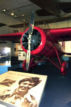 Amelia Earhart Exhibit Smithsonian Air And Space Museum Air