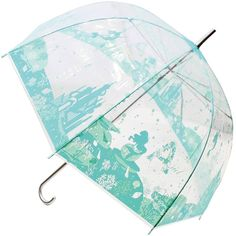 "● Adults and children also love everyone, from the Disney movie ""The Little Mermaid"", of Ariel cute character umbrella. NEW Disney Rapunzel Umbrella Umbrella design Clear plastic parasol from Japan. ● appeared in ""The Little Mermaid"" (1989), a mermaid with a beautiful appearance and singing voice. 