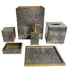 LimestoneWasteCan bathroom accessories Pinterest Bath
