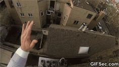 Jumping from roof GIF - www.gifsec.com