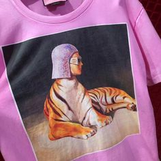 9920fce779f7 #GucciHallucination print T-shirt pink 492347. Replica Gucci Bags