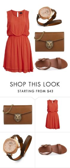 """""""Untitled #268"""" by kenzie-raye13 on Polyvore featuring Gucci, VILA and Shinola"""