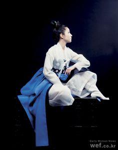 hanbok (fusion Korean dress)