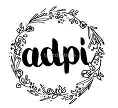 """ADPI Flowers"" Art Prints by trendysticks | Redbubble"