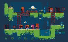 RetroManiac | Revista de videojuegos retro |Videogames Magazine | Indie | Games | Gratis: Pocket Kingdom tratará de darle una vuelta a los puzles con sus gráficos pixelados y su mundo 'abierto'