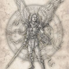 Archangel Michael by jayfrench.deviantart.com on @deviantART