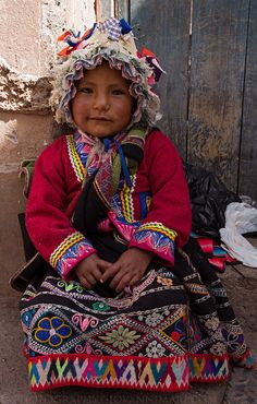 Child, Urubamba Market - Peru   by Giovanni Mari