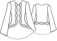 Irish Dance dress patterns - Google Search