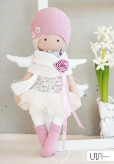 VK is the largest European social network with more than 100 million active users. Crochet Doll Clothes, Sewing Dolls, Knitted Dolls, Pretty Dolls, Cute Dolls, Dolly Doll, Sock Dolls, Little Doll, Fairy Dolls