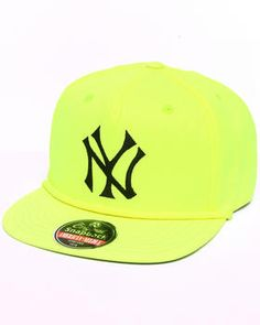 American Needle | New York Yankees Bright Eyes Neon Snapback Hat. Get it at DrJays.com