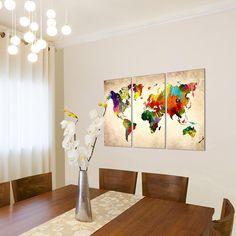 bilder wandbild vlies leinwand 100 x 40 cm abstrakt bild kunstdrucke mehrere farben. Black Bedroom Furniture Sets. Home Design Ideas