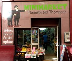 Thompson, with a 'P', and Thomson, without a 'P', in surprise mini-market endorsement...