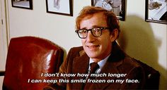 The 20 Most Relatable Woody Allen Quotes. I love Woody Allen (except for the part where he had married his adopted daughter or was it Mia's adopted daughter?) Either way-but still a riot in his field.
