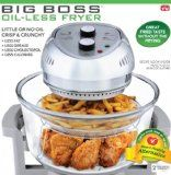 The Big Boss 1300 Watt High Speed, Low Energy Oil-Less Fryer is traditional cooking reinvented. This energy efficient tabletop cooker combines halogen heat, convection and infrared technology . Oil Less Fryer, Fryer Oil, Kitchen Gadgets, Kitchen Appliances, Kitchen Stuff, Cooking Gadgets, Kitchen Countertops, Kitchen Tools, Kitchen Things