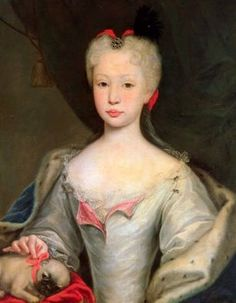(Maria) Barbara of Portugal,  Queen consort of Ferdinand VI, King of Spain. Highly influential with her timid husband. Patron of Scarlatti.