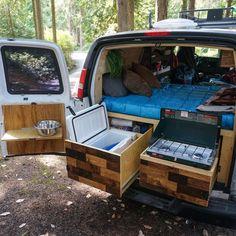 40 Ideas diy outdoor kitchen camper for 2019 Sprinter Camper, Camping Car Sprinter, Suv Camping, Camping Diy, Camping Style, Van Conversion Kitchen, Camper Van Conversion Diy, Van Conversion Layout, Autos Toyota