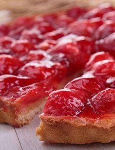 Recette Tarte aux fraises mascarpone - ricotta pour 6 personnes - GRAND FRAIS