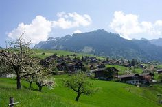 Sigriswil, Switzerland, where some of my husband's ancestors came from.