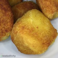 Breadfruit Balls are a Caribbean treat made from seasoned and fried breadfruit. This recipe is gluten-free and soy-free. Indian Food Recipes, Vegan Recipes, Vegan Meals, Vegan Food, Healthy Food, Breadfruit Recipes, Jamacian Food, Caribbean Recipes, Caribbean Food