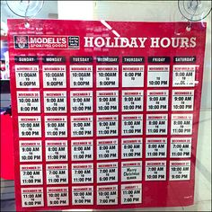 Modell's Sporting Goods Counts Down Holiday Hours Christmas Store, Christmas Holidays, Xmas, Holiday Hours, Store Hours, Hanukkah, Counting, Close Up, Psychology