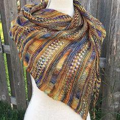 malabrigo yarn - Stormy Sky Shawl by Life Is Cozy @life_is_cozy, knitted by RiverPoet.  malabrigo Mechita in Mandragora colorway.