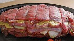 Vrstvená cigánska pečienka: Keď postavíte na stôl túto mäsovú bombu, všetkým naokolo sa okamžite začnú zbiehať slinky!
