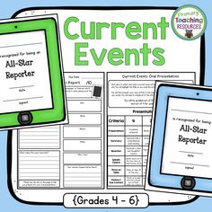 Make current events current again! Current proficiency language added to the rubric!