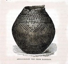 Image: Anglo-Saxon Urn from Earsham