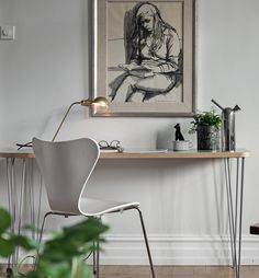 Stylish apartment with a soft look - via Coco Lapine Design blog