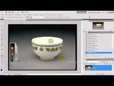 Как отделить объект от фона с помощью векторной маски - YouTube