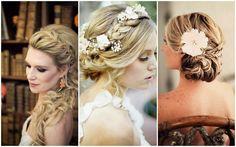 penteados modernos para noivas cabelos longos - Pesquisa Google