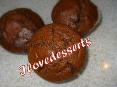 I LOVE DESSERTS: Chocco muffin - - - very very slurppppppppppppp