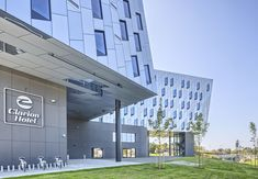 Clarion Hotel Energy, Stavanger, Norway, Snohetta, Alucobond NaturAL, Anodized, Photography Sindre Ellingsen