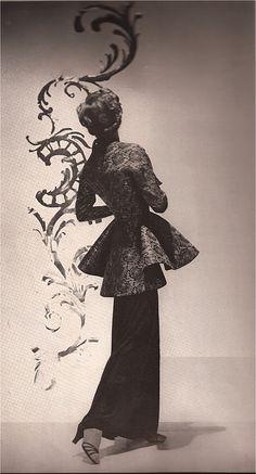 BALINESE DIRECTOIRE  VOGUE JUNE 1936  PHOTOGRAPHY: HORST P. HORST