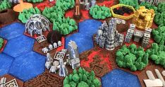 Terraforming Mars Replacement Tiles #toysandgames #practical