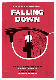 Alternative falling down poster.