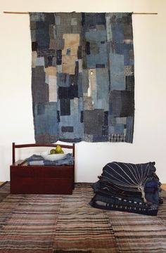 Antique Japanese Boro Quilt