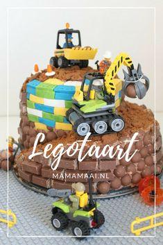 Lego-verjaardagstaart voor mijn legofan - Mama Maai Birthday Parties, Birthday Cake, Diy Food, Sweet, Desserts, Blog, Recipes, Kids, Party Ideas